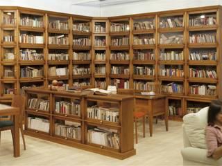 Grandes bibliotecas.: Estudio de estilo  de Eme de Madera