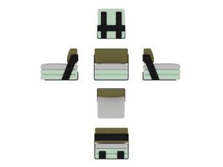 MMK Fermoir vanité: modern  von MK Matthias Krenn Design ,Modern