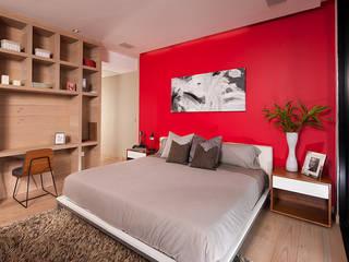 Dormitorios de estilo  de GLR Arquitectos