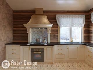Добротный дом в классическом стиле Кухня в классическом стиле от ASTER DECO Классический