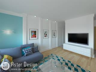 Интерьер в стиле Арт-Деко Гостиные в эклектичном стиле от ASTER DECO Эклектичный