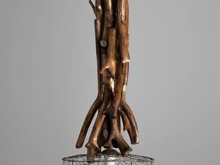 Lampa wisząca POŁUDNICA: styl , w kategorii  zaprojektowany przez Chrust