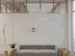 Salas de estilo minimalista de Anton Medvedev Interiors Minimalista