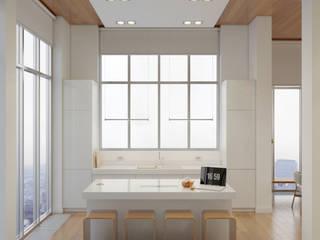 Cocinas de estilo minimalista de Anton Medvedev Interiors Minimalista