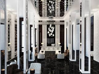 Hotel moderni di Space - студия дизайна интерьера премиум класса Moderno