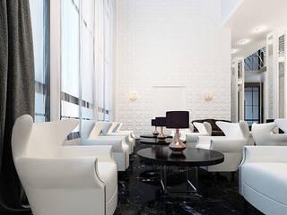 모던 스타일 호텔 by Space - студия дизайна интерьера премиум класса 모던