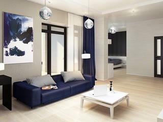 Minimalist living room by Space - студия дизайна интерьера премиум класса Minimalist