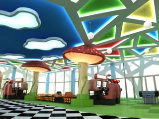 """Детский развлекательный центр """"Алиса"""":  в . Автор – Studio Kamil Tsuntaev,"""