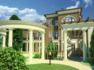 Индивидуальный жилой дом:  в . Автор – Studio Kamil Tsuntaev,