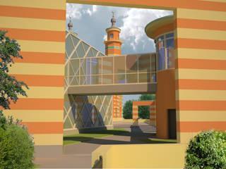 Исламский культурно просветительский центр в г.Владикавказ:  в . Автор – Studio Kamil Tsuntaev,