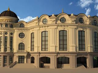 Торгово-развлекательный центр:  в . Автор – Studio Kamil Tsuntaev