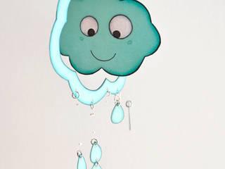 Petit mobile décoratif NUAGE:  de style  par Les Petits Pois sont Bleus
