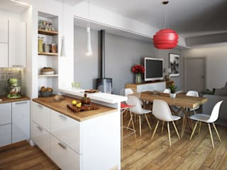 Kitchen by Beniamino Faliti Architetto, Modern