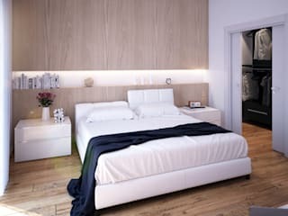 Bedroom by Beniamino Faliti Architetto