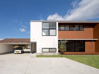 Casas de estilo  por 株式会社プラスディー設計室, Moderno
