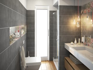 Bathroom by Beniamino Faliti Architetto,