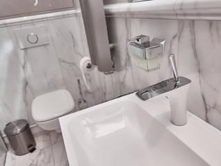 APARTAMET W SZCZECINIE Nowoczesna łazienka od ARCHINSIDE STUDIO KATARZYNA PARZYMIES Nowoczesny