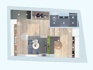 Studio 23m²:  de style  par Aurélia Petitet