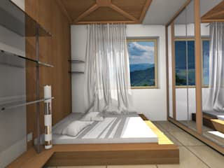 Bedroom.:  Bedroom by Kay Studio