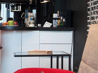 """Студия в Микрогороде """"В лесу"""" Кухня в стиле лофт от Студия Анастасии Бархатовой Лофт"""