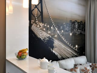 Квартира на Приморском проспекте: Кухни в . Автор – Студия Анастасии Бархатовой