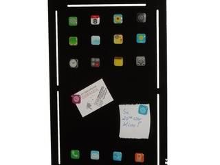 Memotafel om Tablet-Design mit 18 Magneten im App-Design:   von die Design-Schmiede by TM-TH