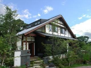 新・古民家 オリジナルな 家 の アトリエ優 一級建築士事務所 オリジナル