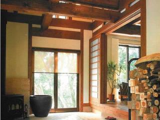 新・古民家 オリジナルデザインの 多目的室 の アトリエ優 一級建築士事務所 オリジナル