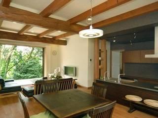 アトリエ優 一級建築士事務所 Eclectic style dining room