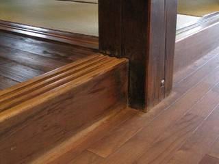 アトリエ優 一級建築士事務所 Rustic style walls & floors