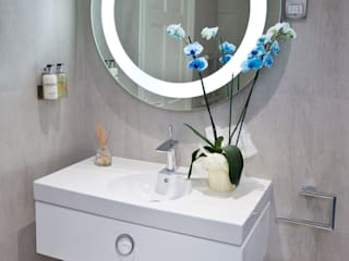 Luxury Boutique Bathroom Modern style bathrooms by Lisa Melvin Design Modern