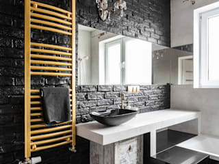 Archikąty Eclectic style bathroom