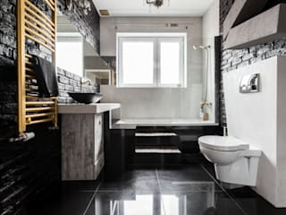 Archikąty Eclectic style bathrooms