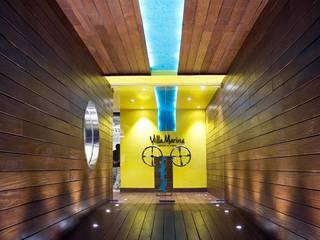 Resturante Villa Marina Gastronomía de estilo moderno de Vulca Studio Moderno