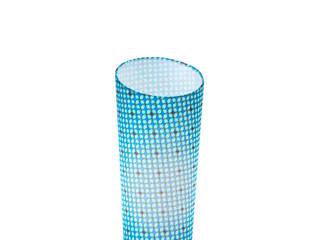 La lampe décalée bleue:  de style  par les zigolums