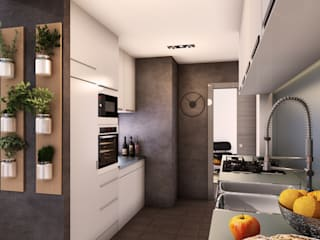 Minimalist kitchen by 2vsarq Minimalist