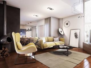 Minimalist dining room by 2vsarq Minimalist