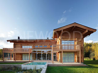 NEWOOD - Современные деревянные дома Classic style houses