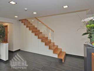 Modern Corridor, Hallway and Staircase by Wiehl GmbH & Co. KG Modern