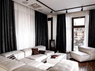 Apartament City Park Poznań: styl , w kategorii Salon zaprojektowany przez Ostańska design