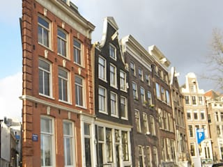 voorgevel: klasieke Huizen door BALD architecture
