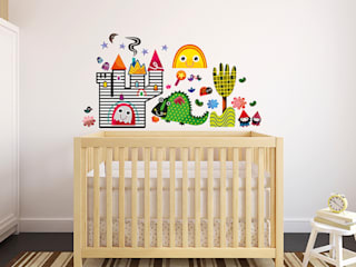 Fairy Tale Nursery Wall Stickers by Witty Doodle:   by Witty Doodle