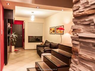 Living room by Estudio Alvarez Angiono, Modern
