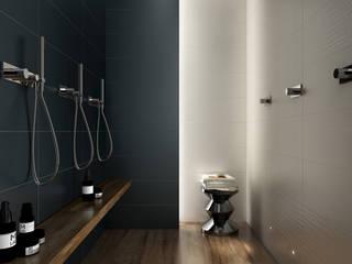 3D rendering | bagno moderno: Bagno in stile in stile Moderno di MHP media | 3D Rendering