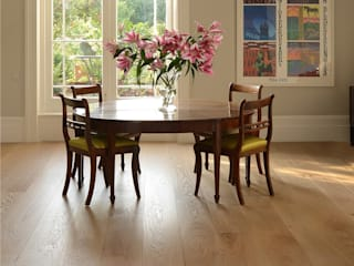 White engineered oak wood flooring range: classic  by The Natural Wood Floor Company, Classic