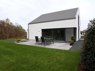 Minimalistyczne domy od Architektur Jansen Minimalistyczny
