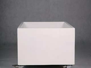 "White toy box ""Mini Mal"" NOBOBOBO Nursery/kid's roomStorage"