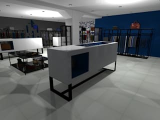 Lojas e espaços comerciais  por architè