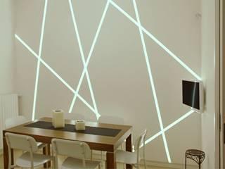 Comedores de estilo minimalista de AMN studio Minimalista
