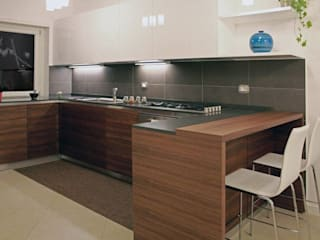 Cocinas de estilo minimalista de AMN studio Minimalista